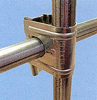 クロスワン(パイプ結合部材・十字金具)
